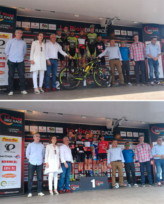 En TodoMountainBike: Francesc Guerra y Clàudia Galicia, vencedores de La Rioja Bike Race presented by Shimano 2017