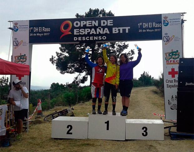 En TodoMountainBike: Edgar Carballo y Telma Torregrosa, vencedores del Open de España DH 2017
