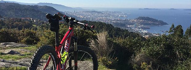 La foto del día en TodoMountainBike: 'Vista de la Ría de Vigo'