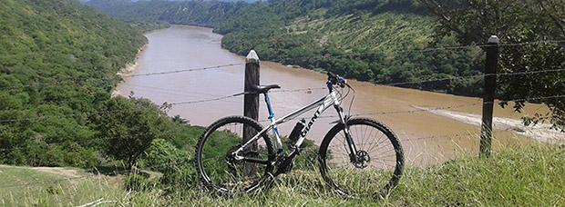 La foto del día en TodoMountainBike: 'A orillas del río Magdalena'