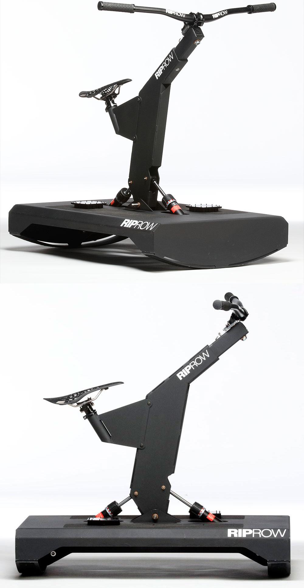 En TodoMountainBike: RipRow, una plataforma de equilibrio para entrenar movimientos técnicos específicos de ciclistas de montaña