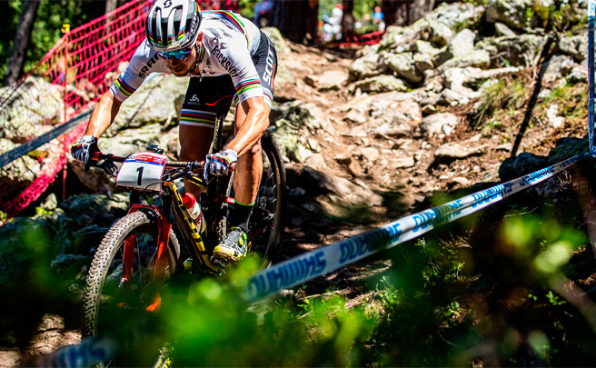 RockShox, patrocinador oficial de los Campeonatos del Mundo UCI MTB 2017