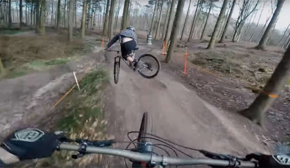 Vertiginosa sesión de Mountain Bike con Will Greenfield, Zac Michaelides y una GoPro HERO5 Black