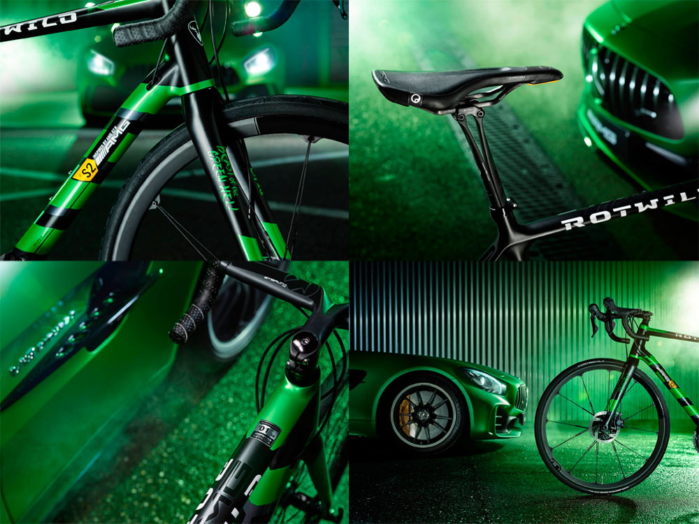En TodoMountainBike: Rotwild R.S2 Beast of the Green Hell, un bólido de carretera inspirado en el Mercedes-AMG GT R