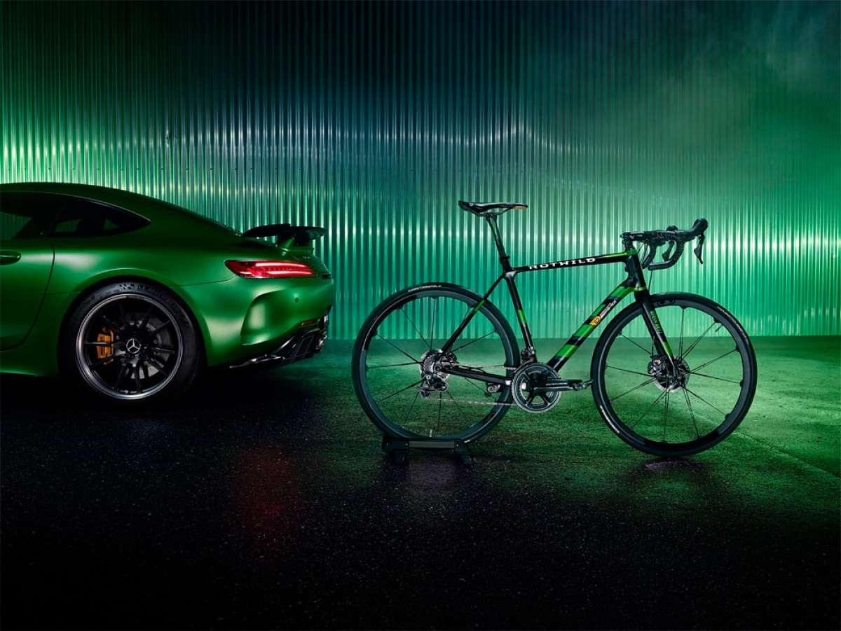 Rotwild R.S2 Beast of the Green Hell, un bólido de carretera inspirado en el Mercedes-AMG GT R