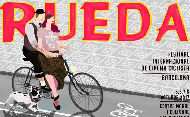 Rueda, el Festival de Cine Ciclista de Barcelona, regresa cargado de novedades