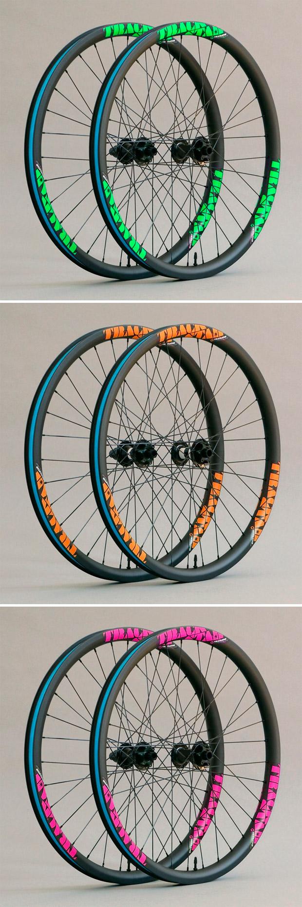 En TodoMountainBike: Nueva gama Premium para las ruedas de carbono de TrackStar