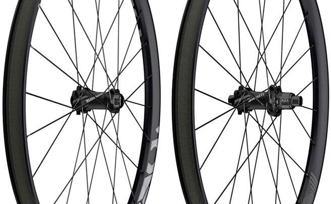 Diámetro de 29 pulgadas para las ruedas de carbono SRAM Roam 60