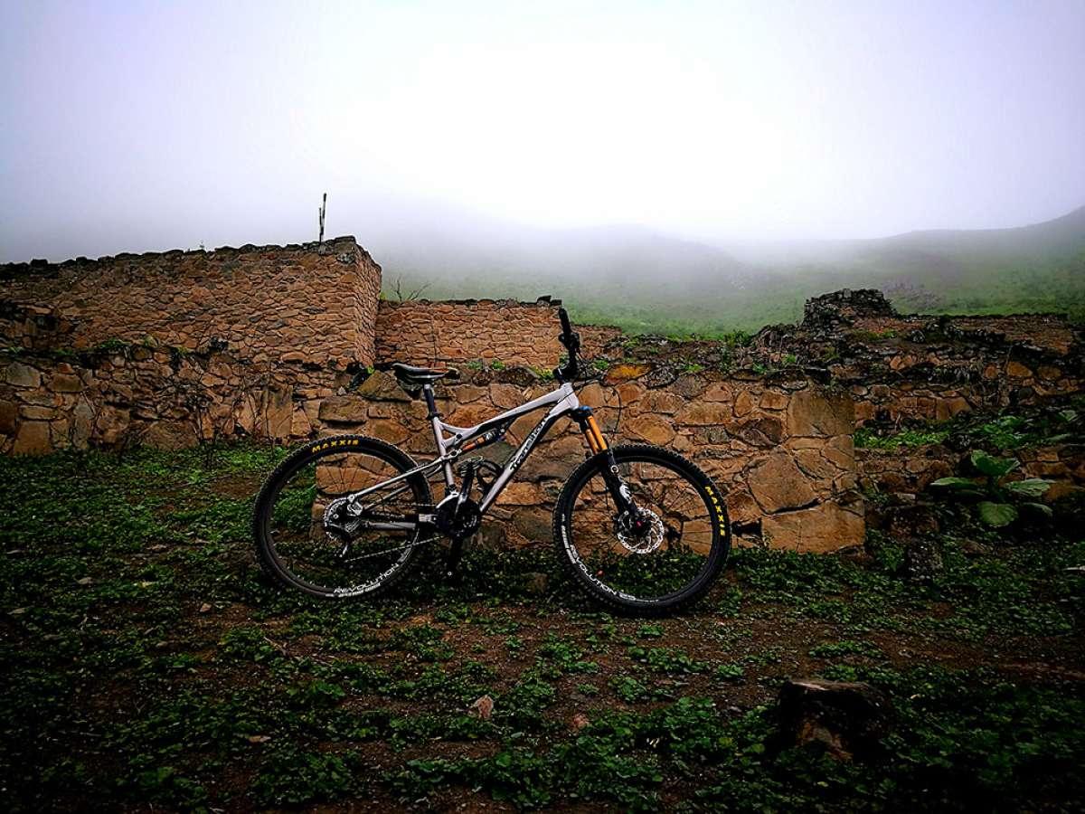 """La foto del día en TodoMountainBike: """"Ruinas de Chirimoyo"""""""