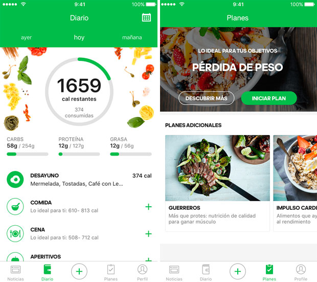 En TodoMountainBike: Runtastic Balance, una aplicación para cuantificar la dieta diaria en base a diferentes objetivos