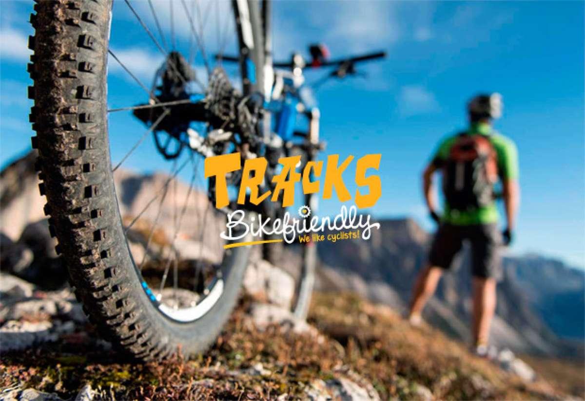 Así son las rutas BTT por etapas de Tracks Bikefriendly