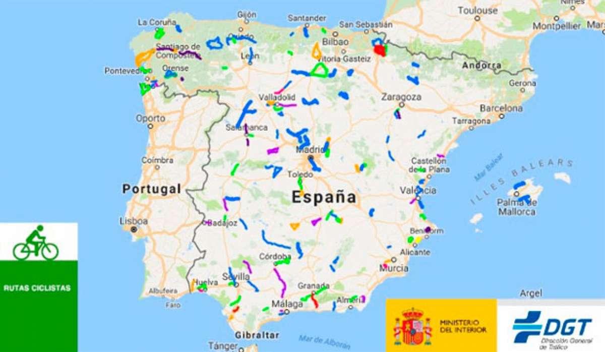 En TodoMountainBike: En marcha las Rutas Ciclistas Protegidas, una de las medidas adoptadas por la DGT para proteger al colectivo