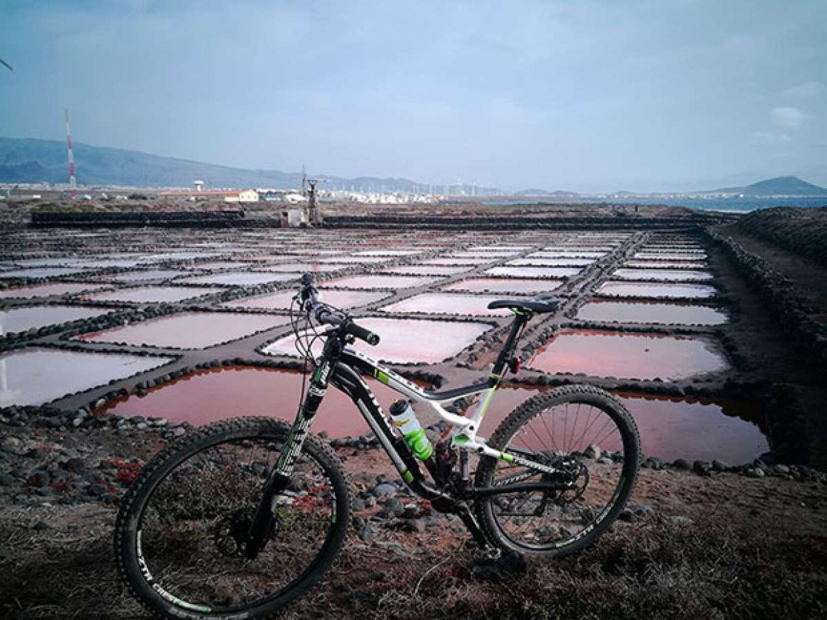 """La foto del día en TodoMountainBike: """"Salinas de Tenefé"""""""