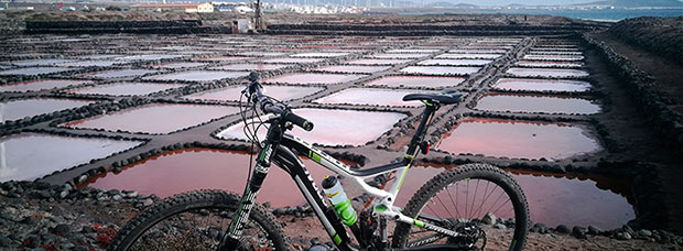 La foto del día en TodoMountainBike: 'Salinas de Tenefé'