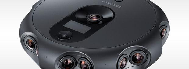 Samsung 360 Round, una avanzada cámara de vídeo 3D inmersivo destinada a profesionales