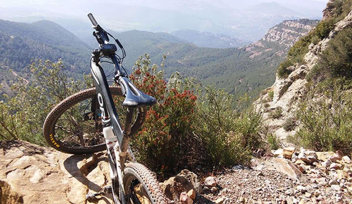 """La foto del día en TodoMountainBike: """"Camino a Sant Miquel del Fai"""""""