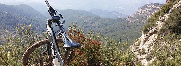 La foto del día en TodoMountainBike: 'Camino a Sant Miquel del Fai'