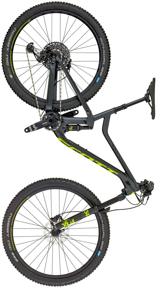 En TodoMountainBike: Dos medidas de rueda compatibles y sistema de suspensión rediseñado para la Scott Genius 2018