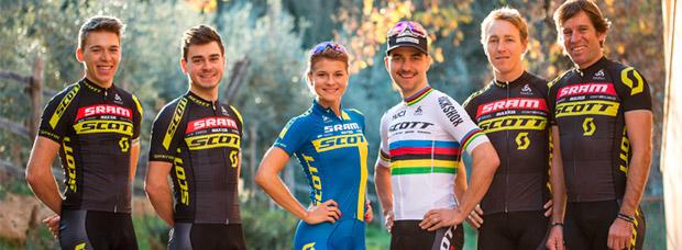 Presentación del SCOTT-SRAM MTB Racing Team, el equipo XCO de referencia en el Mountain Bike