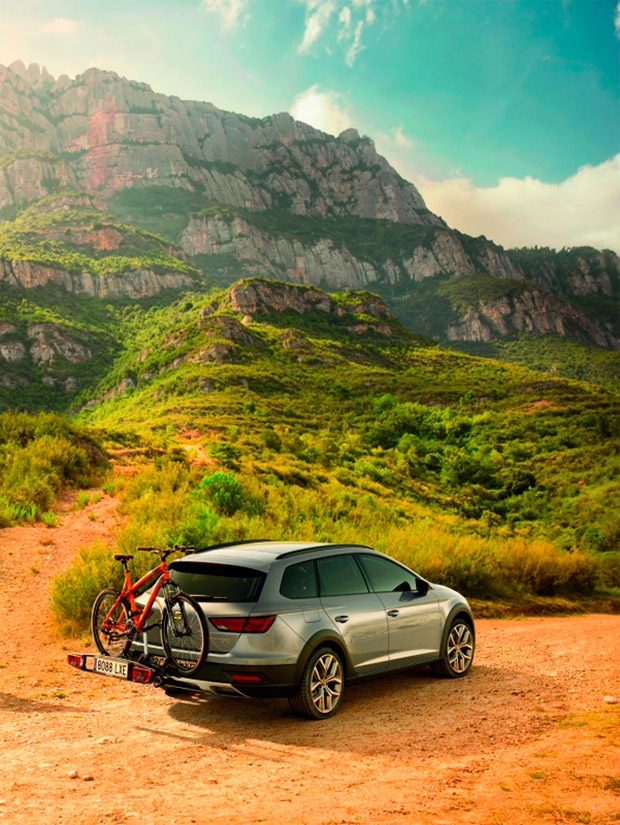 En TodoMountainBike: El SEAT León X-PERIENCE, coche oficial de la Gaes Titan Desert by Garmin 2017