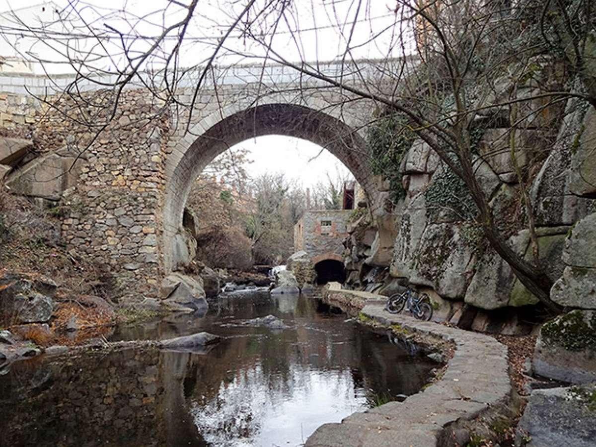 En TodoMountainBike: La foto del día en TodoMountainBike: 'Senda de los Molinos del río Eresma'