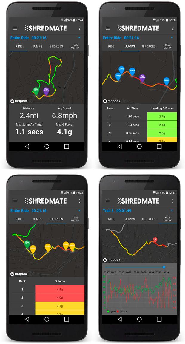 En TodoMountainBike: ShredMate, sensor y aplicación móvil para cuantificar saltos y fuerzas G sobre la bicicleta
