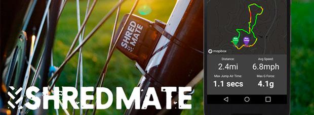 ShredMate, sensor y aplicación móvil para cuantificar saltos y fuerzas G sobre la bicicleta