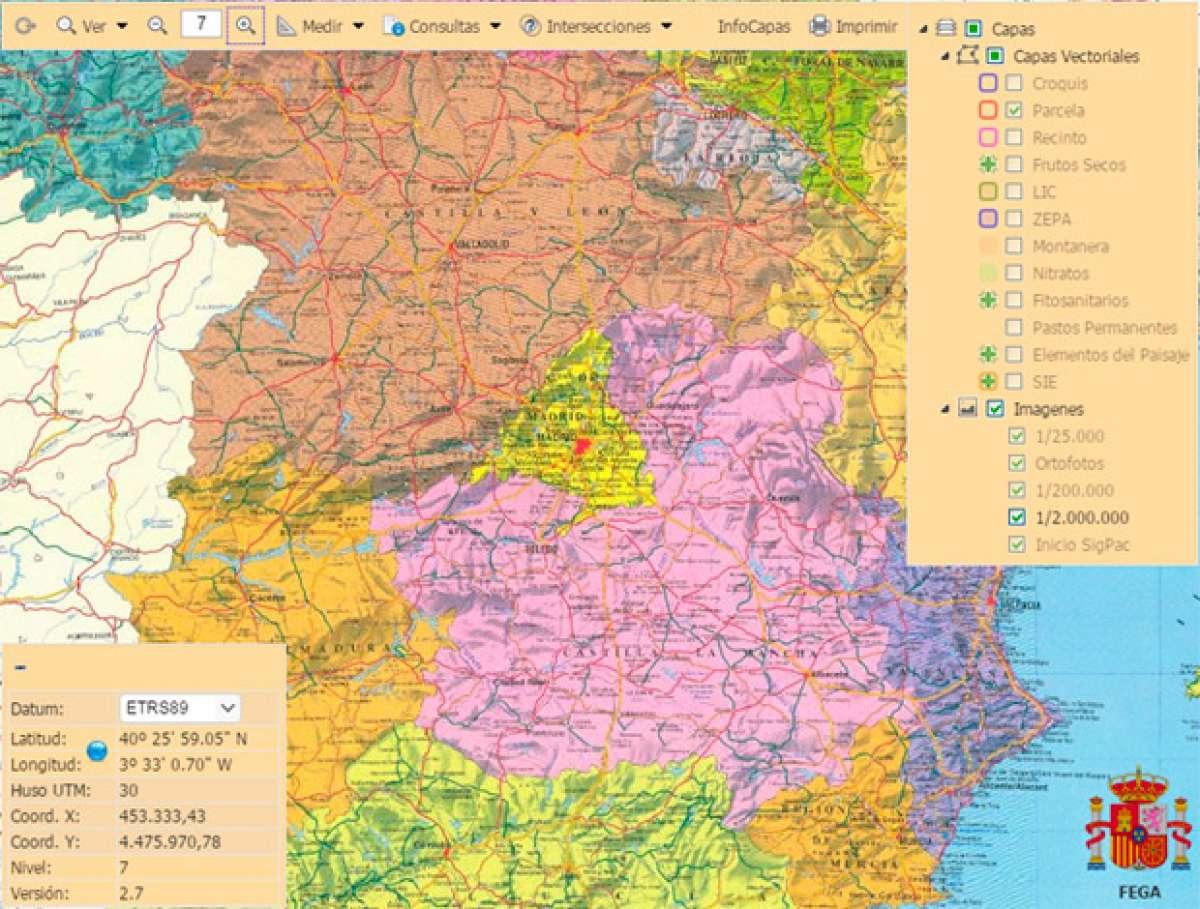SIGPAC, una útil herramienta online para saber si un camino es público o privado en España