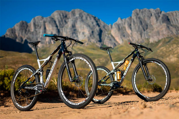 En TodoMountainBike: Las exclusivas Specialized S-Works Epic World Cup de Sauser y Kulhavy para la Absa Cape Epic 2017