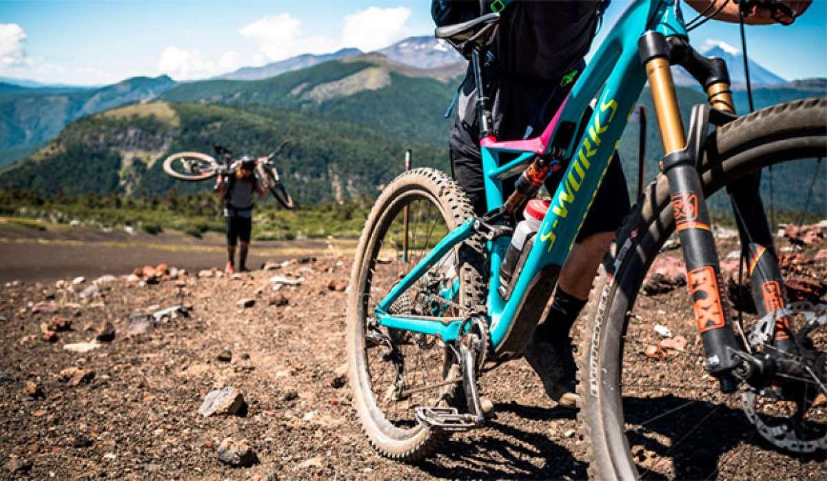 Rodando por los senderos de la Patagonia con Matt Hunter y compañía