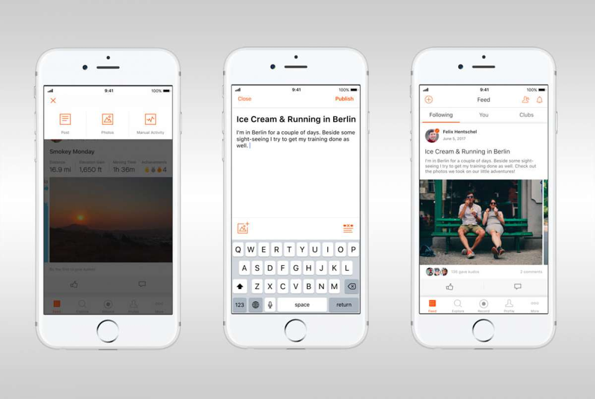 Strava, un paso más cerca de convertirse en Facebook: añade la función de publicaciones