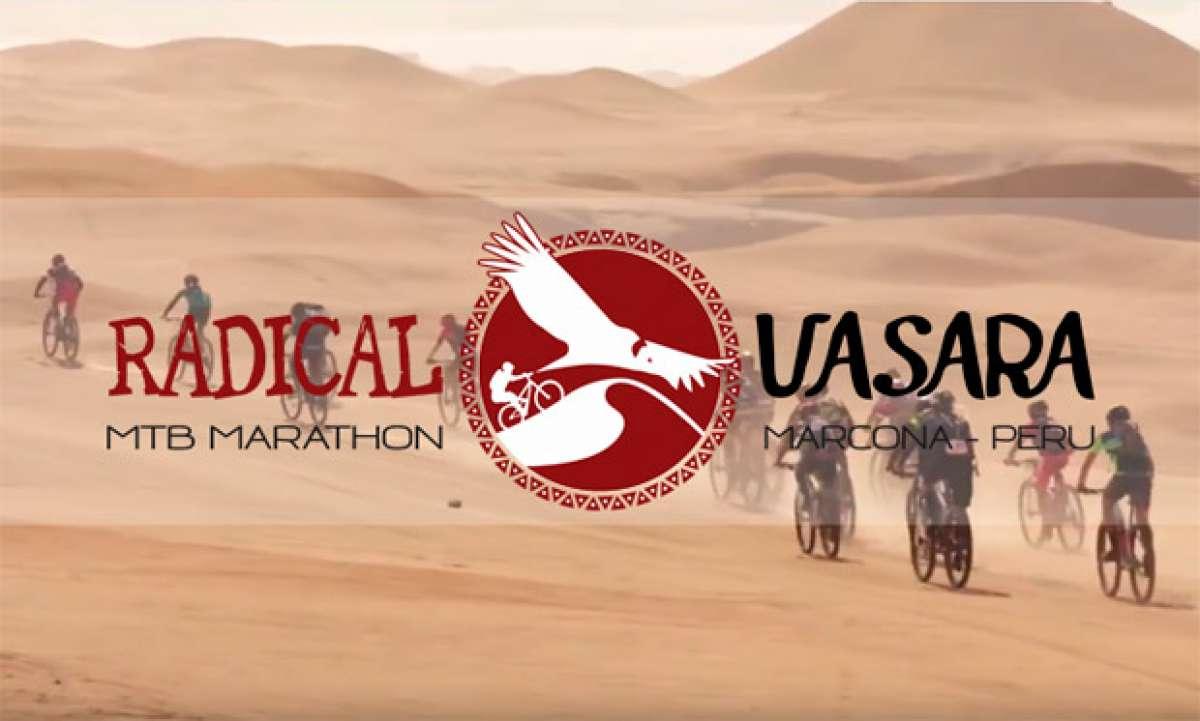 """""""Teaser"""" de la Fuxion Radical Uasara MTB Marathon 2017, la """"Titan Desert"""" de Perú"""