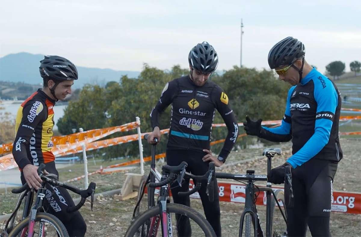 Aprendiendo técnica con Tomi Misser: Ciclocross con Ismael Esteban y Felipe Orts