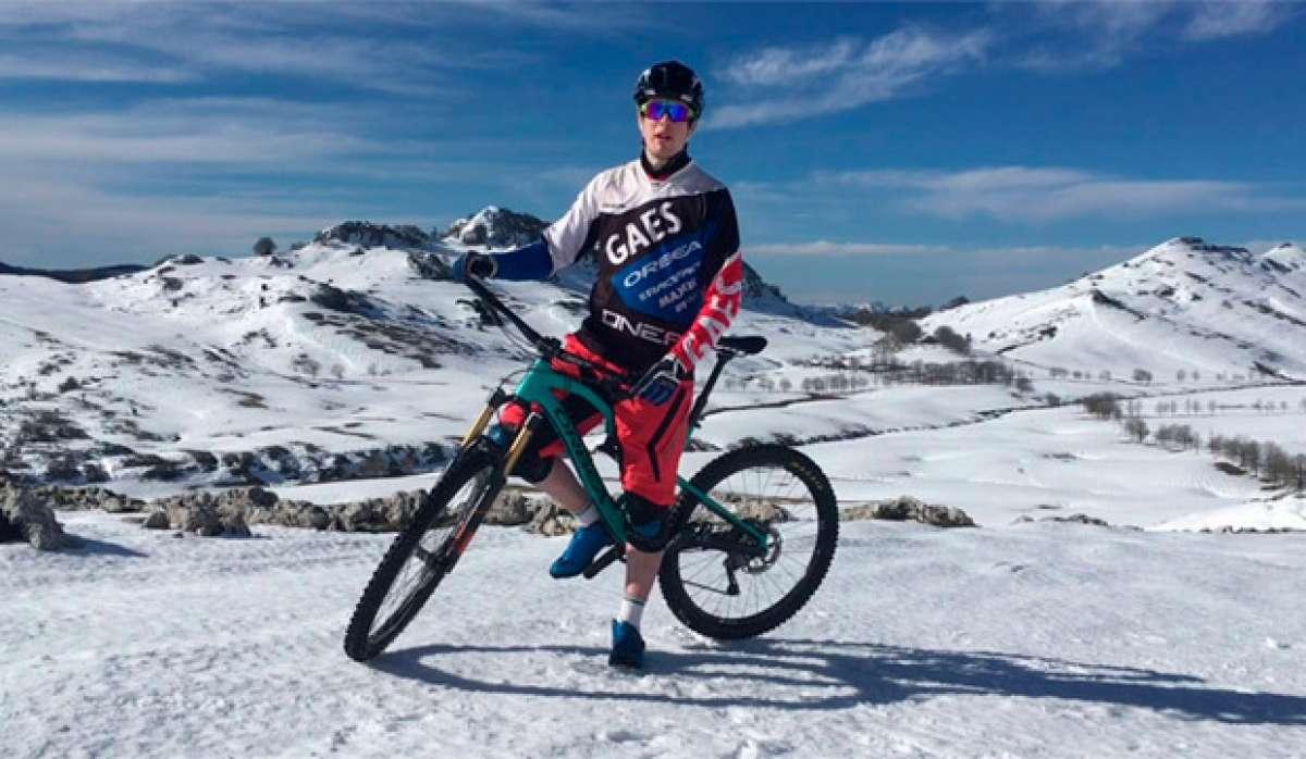 Aprendiendo técnicas de Mountain Bike con Markel Uriarte: la mirada