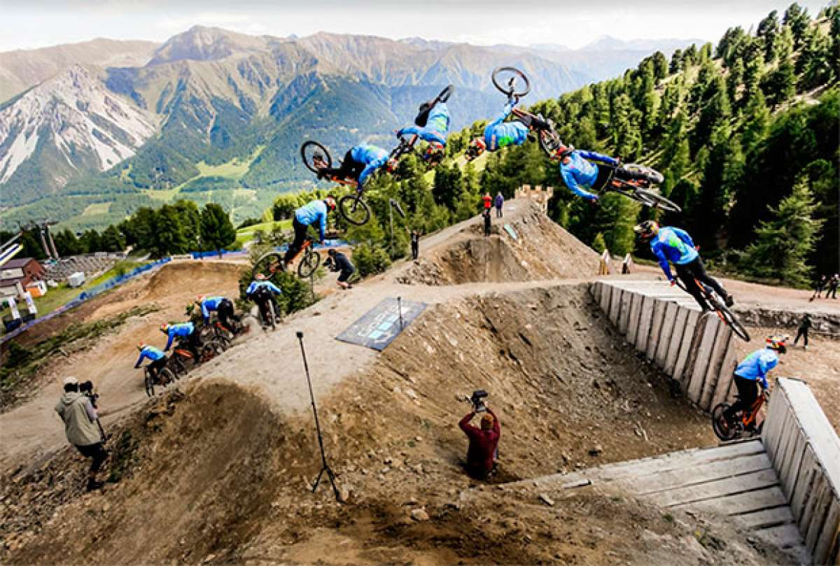 'The Twister', el espectacular truco de Nicholi Rogatkin en el Suzuki Nine Knights MTB 2017