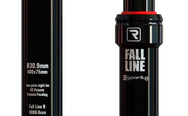 9Point8 Fall Line R, la tija telescópica más ligera del mercado (hasta la fecha)