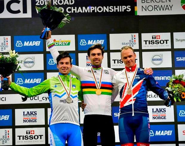 En TodoMountainBike: Tom Dumoulin, campeón del mundo en el Mundial de Contrarreloj 2017 de Bergen