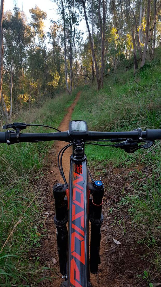 En TodoMountainBike: La foto del día en TodoMountainBike: 'Biker no hay camino, el camino se hace al rodar'