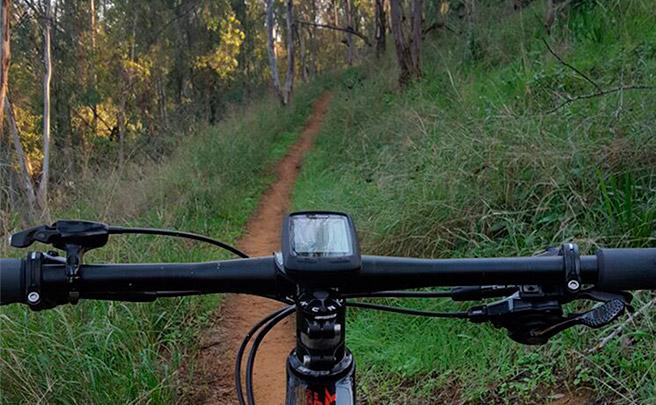 La foto del día en TodoMountainBike: 'Biker no hay camino, el camino se hace al rodar'