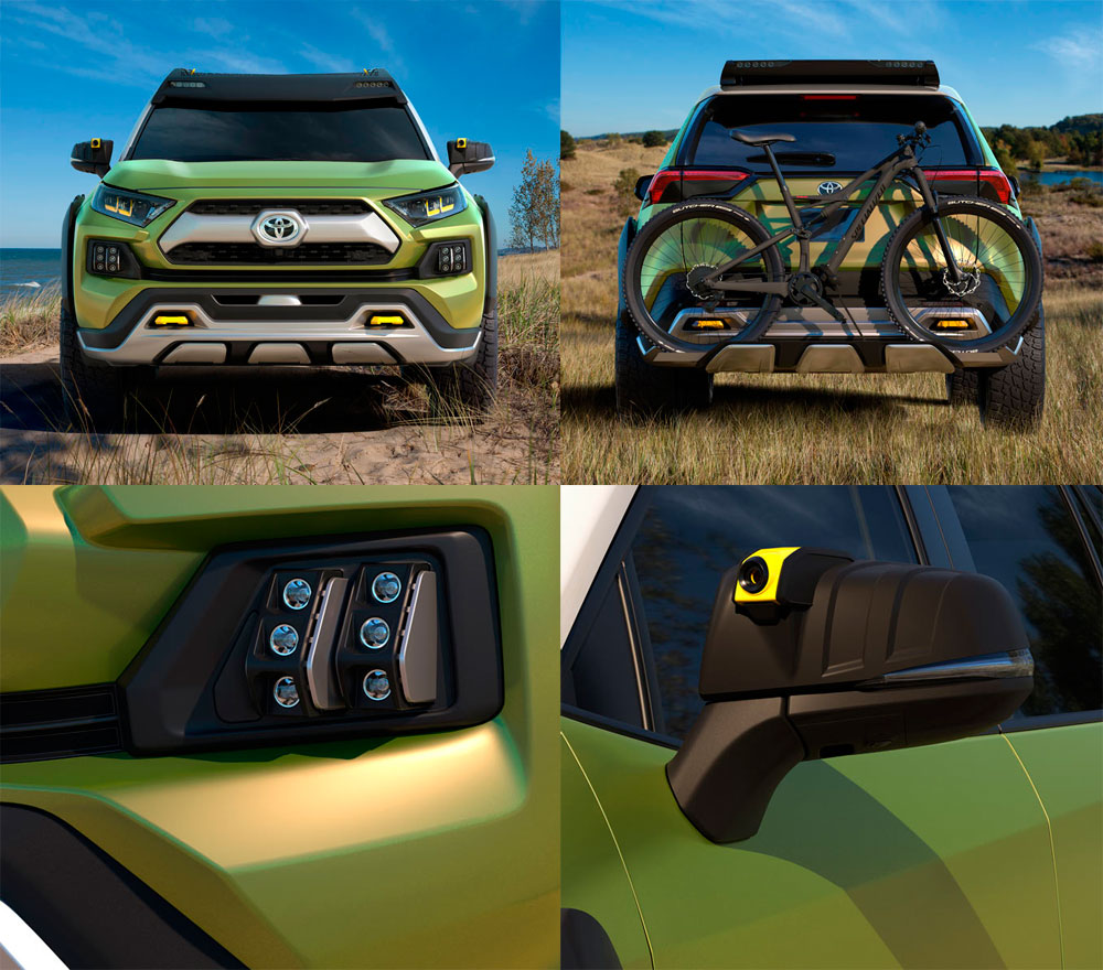 En TodoMountainBike: Toyota FT-AC, el todoterreno perfecto para ciclistas de montaña