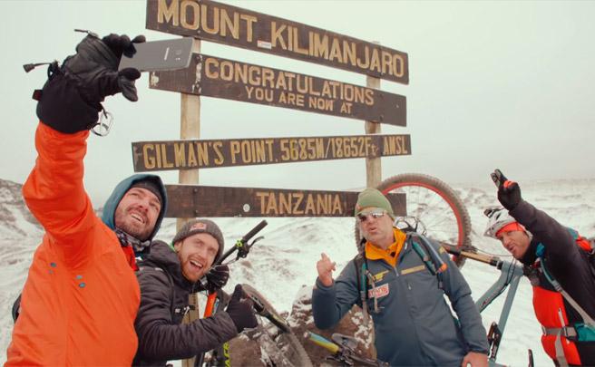 Tráiler épico: Danny MacAskill contra el Kilimanjaro