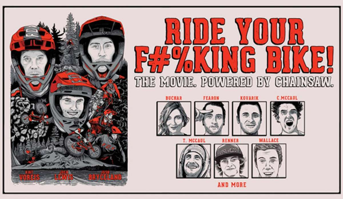"Tráiler promocional de ""Ride Your F#%king Bike"", el primer largometraje MTB de FOX Racing"