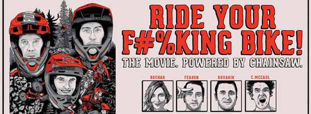 Tráiler promocional de 'Ride Your F#%king Bike', el primer largometraje MTB de FOX Racing