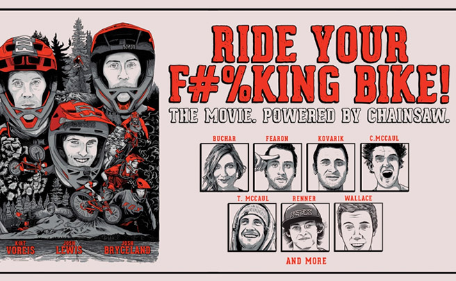 'Ride Your F#%king Bike', el primer largometraje de FOX Racing, al completo