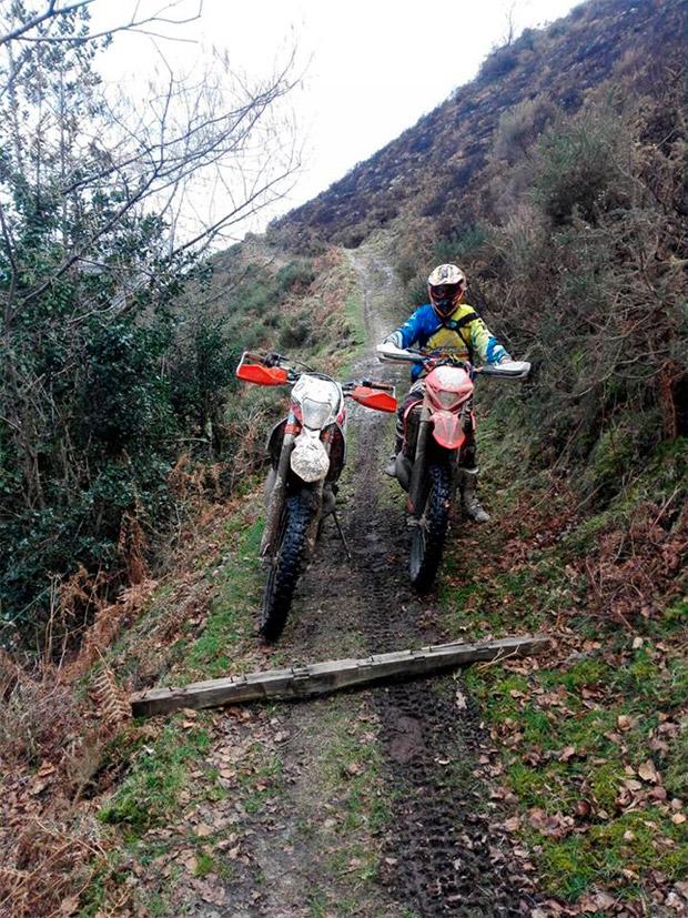 Alerta en Asturias: trampas para motoristas y ciclistas en el concejo de Cabranes