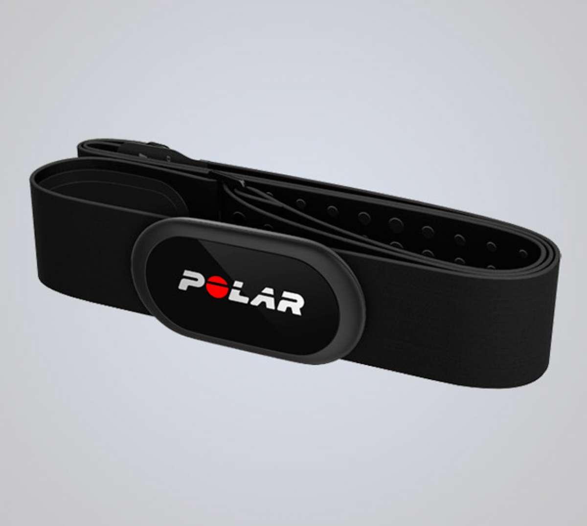 Más precisión y fiabilidad para el transmisor de frecuencia cardíaca Polar H10