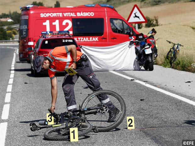 En TodoMountainBike: Jornada trágica en Navarra con tres ciclistas muertos en una misma mañana