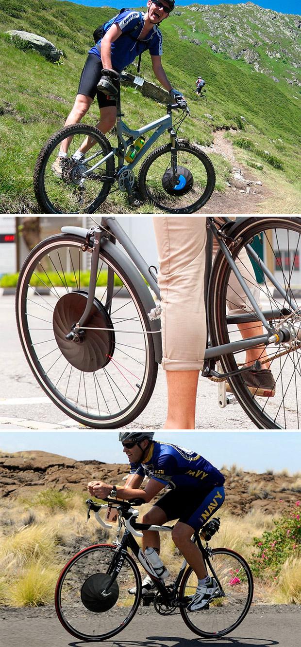 En TodoMountainBike: UrbanX, la rueda que convierte cualquier bicicleta en una eléctrica