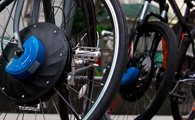 UrbanX, la rueda que convierte cualquier bicicleta en una eléctrica