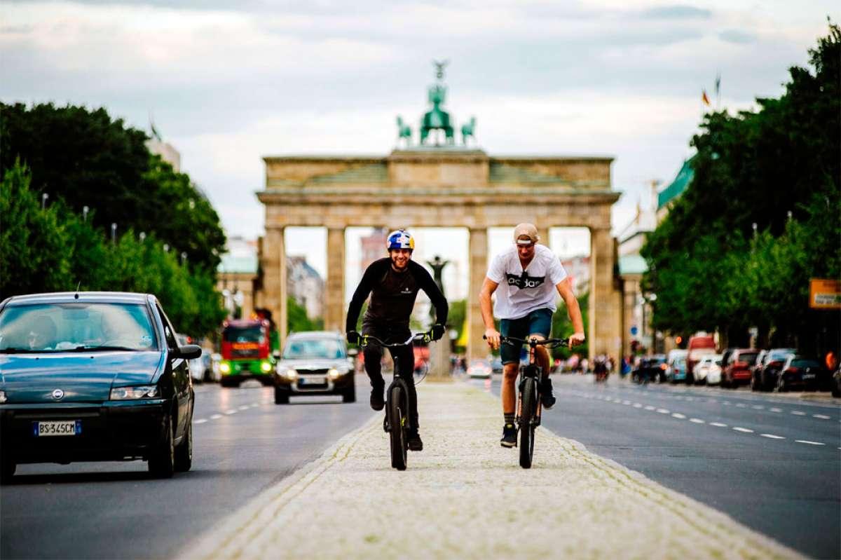 De vacaciones en Alemania con Danny MacAskill y Martin Söderström